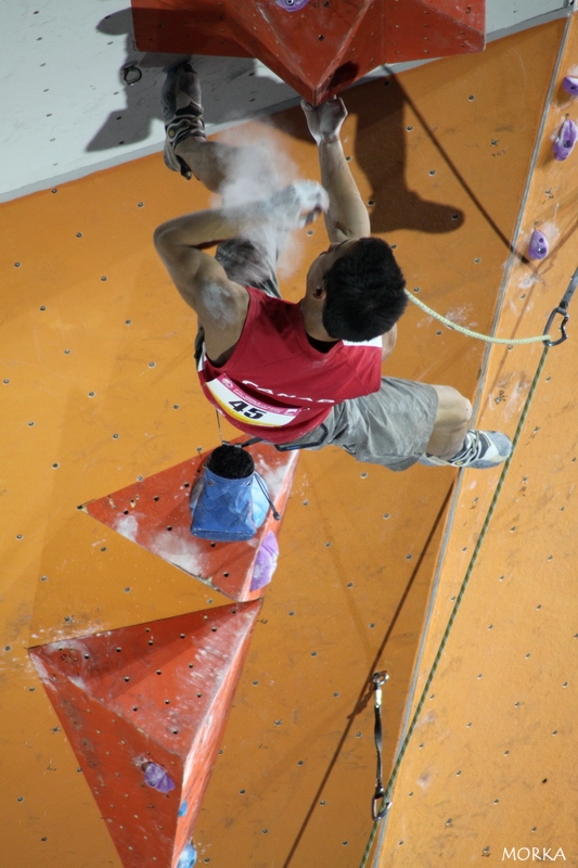 Lead male semi-final - World climbing championship 2012